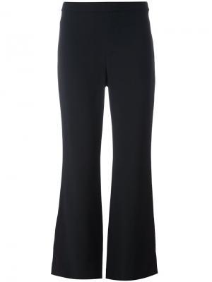 Классические расклешенные брюки Helmut Lang. Цвет: чёрный