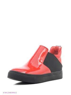 Ботинки Shelly. Цвет: красный
