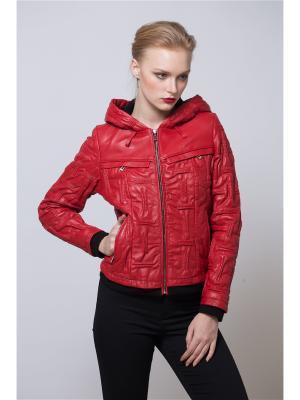 Куртка MONDIAL. Цвет: красный