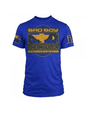 Футболка Bad Boy Alexander Gustafsson Walkout - UFC Fight Night 37 Royal Blue Heather. Цвет: синий