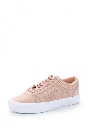 Кеды Vans. Цвет: розовый