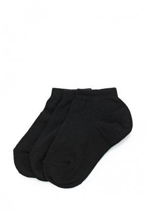 Комплект носков 3 пары Sela. Цвет: черный