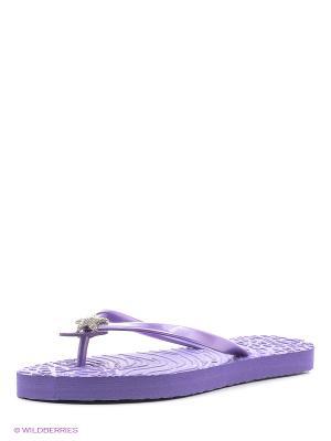 Шлепанцы De Fonseca. Цвет: фиолетовый