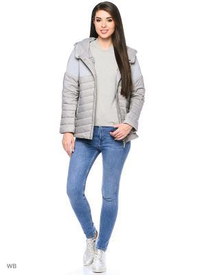 Куртка Romantic Collection.. Цвет: серый