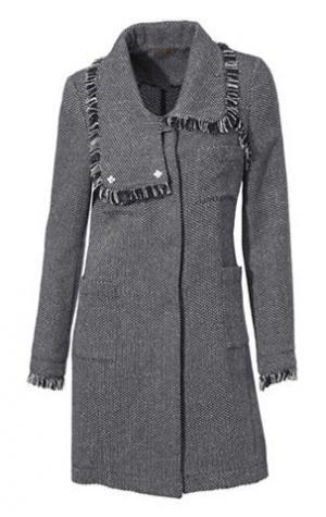 Пальто MANDARIN. Цвет: темно-синий