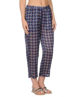 Пляжные брюки и шорты SEKLI. Цвет: синий