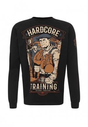 Лонгслив Hardcore Training. Цвет: черный