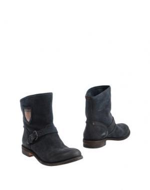 Полусапоги и высокие ботинки ESSEutESSE. Цвет: темно-синий