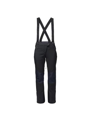 Брюки NUCLEON PANTS WOMEN Jack Wolfskin. Цвет: черный