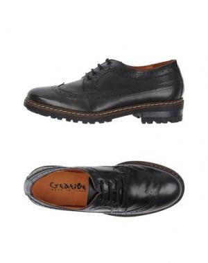 Обувь на шнурках CREATIVE. Цвет: стальной серый