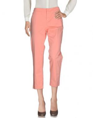 Повседневные брюки SONIA DE NISCO. Цвет: лососево-розовый
