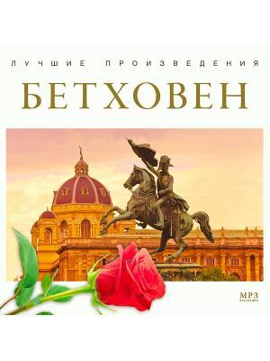 Лучшие произведения. Бетховен (компакт-диск MP3) RMG. Цвет: прозрачный