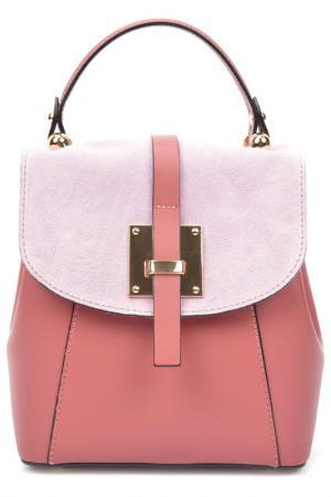 Рюкзак CARLA FERRERI. Цвет: розовый