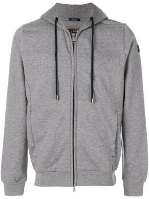 Zip hoodie Paul & Shark. Цвет: серый