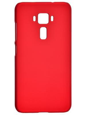 Накладка для Asus Zenfone 3 ZE520KL skinBOX. Серия 4People. Защитная пленка в комплекте. skinBOX. Цвет: красный