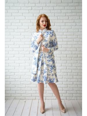 Пальто Anastasia Kovall. Цвет: белый