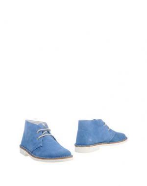 Полусапоги и высокие ботинки ONLYONE. Цвет: небесно-голубой