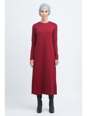 Платье миди базовое трикотажное Bella kareema