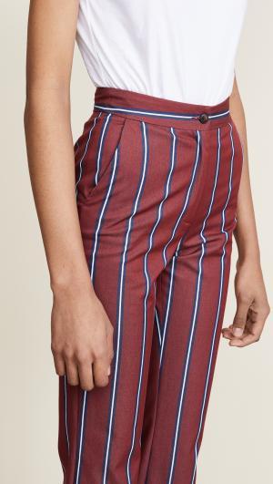Straight Leg Striped Pants Stella Jean