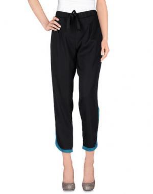 Повседневные брюки LE RAGAZZE DI ST. BARTH. Цвет: лазурный