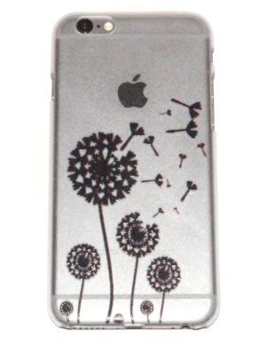 Чехол для iPhone 6/6s Lola. Цвет: прозрачный, коричневый