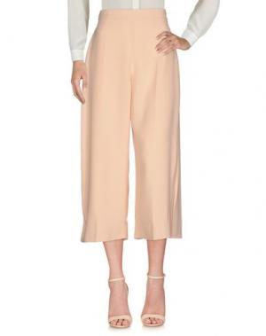 Повседневные брюки ELISABETTA FRANCHI 24 ORE. Цвет: телесный