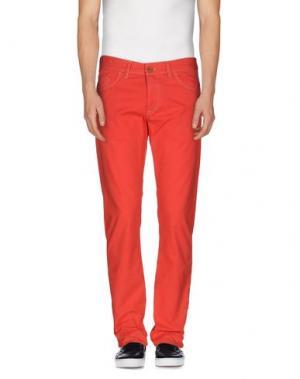 Повседневные брюки CANTARELLI. Цвет: коралловый