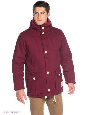 Куртка True Spin. Цвет: бордовый
