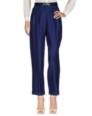 Повседневные брюки ROKSANDA. Цвет: темно-синий