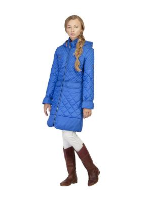 Пальто MES AMI. Цвет: синий
