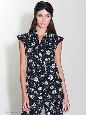 Блузка Isabel de Pedro. Цвет: черный