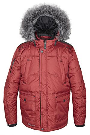 Куртка Point Zero. Цвет: красный