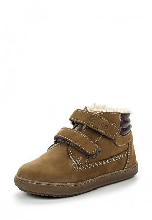 Ботинки Chicco. Цвет: хаки