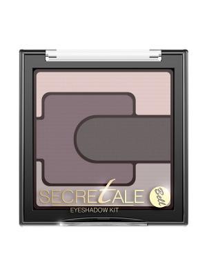 Тени Для Век Разноцветные Secretale Eyeshadow Kit Тон 2 Bell. Цвет: светло-коричневый