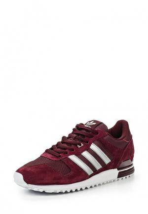 Кроссовки adidas Originals. Цвет: бордовый