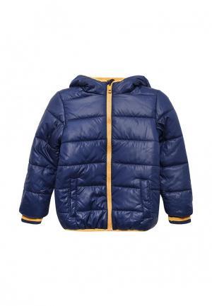 Куртка утепленная Modis. Цвет: синий
