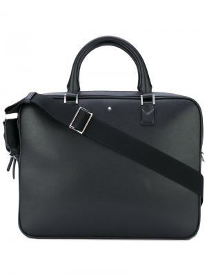 Плоский портфель Sartorial Montblanc. Цвет: чёрный