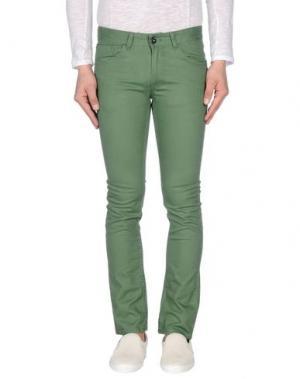 Повседневные брюки MATIX. Цвет: зеленый