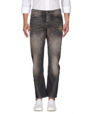 Джинсовые брюки REIGN. Цвет: черный