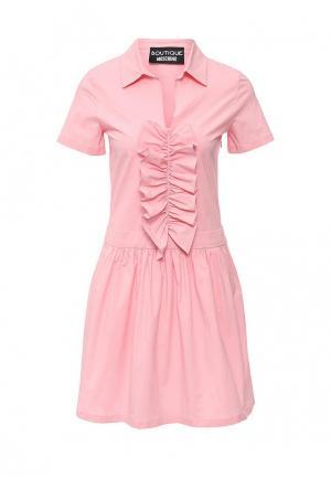 Платье Boutique Moschino. Цвет: розовый