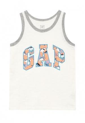 Майка Gap. Цвет: белый