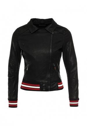 Куртка кожаная Urban Bliss. Цвет: черный