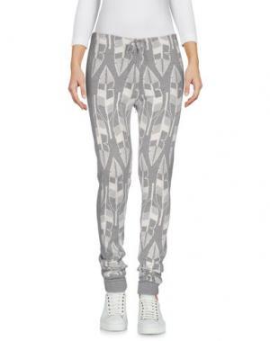 Повседневные брюки PAOLO BERGAMASCHI. Цвет: серый