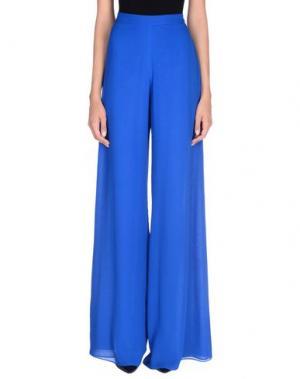 Повседневные брюки GAI MATTIOLO. Цвет: ярко-синий
