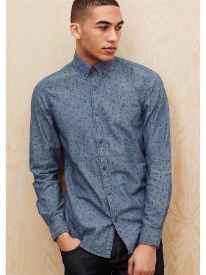Рубашка S.OLIVER. Цвет: черный, синий, фуксия, белый