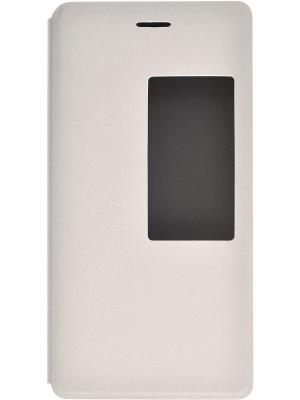 Кейс-книжка для Huawei P8 skinBOX. Цвет: белый