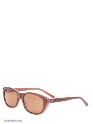 Солнцезащитные очки Serengeti. Цвет: рыжий