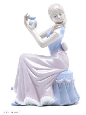 Статуэтка Дамские радости Pavone. Цвет: сиреневый, фиолетовый, светло-бежевый