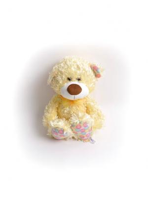 Мягкая игрушка Медвежонок Ник Malvina. Цвет: золотистый