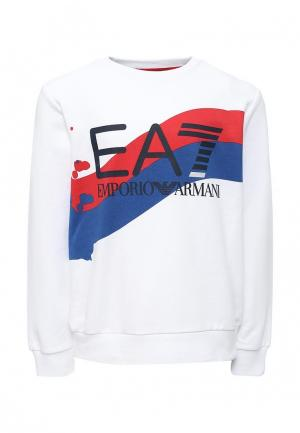 Свитшот EA7. Цвет: белый